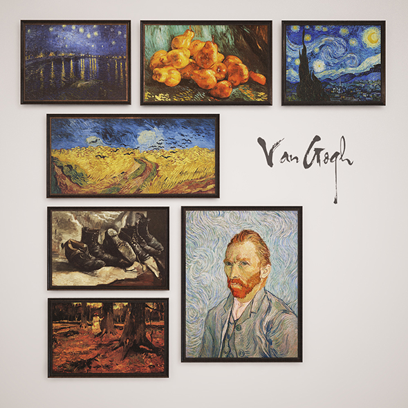 Van Gogh - 3DOcean Item for Sale