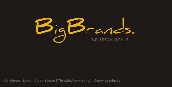 BigBrands - Wordpress
