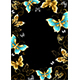 Frame with Gold Butterflies