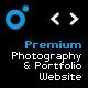 Premium Photography and Portfolio Website - ActiveDen Item for Sale