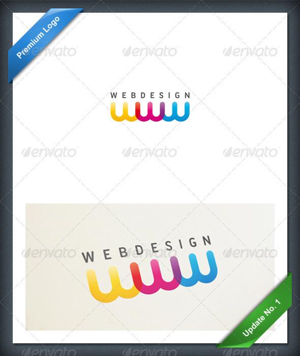 WebDesign Logo - Letters Logo Templates