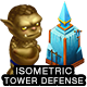 Isometric Tower Defense Game Kit 3 of 3 w character sprites & more