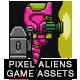 8-Bit Platformer Jetpack Pixel Hero Girl Game Kit 2 of 2