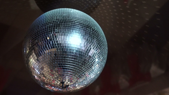 VideoHive Isolated Disco Ball On The Black Background 17843934