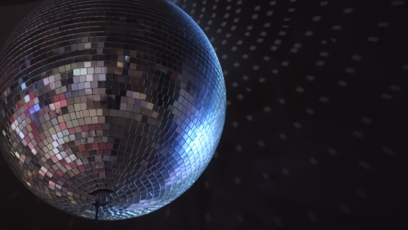 VideoHive Isolated Disco Ball on the Black Background 17843938