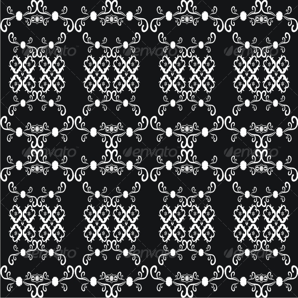 Vector floral pattern - Patterns Decorative