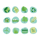 Green Icons Retro Revival Collection - Set 5 - GraphicRiver Item for Sale