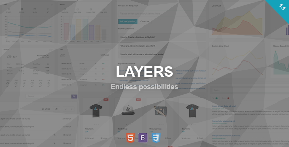 Download Layers - Responsive Admin Dashboard Template