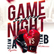 Game Fighting Night Flyer