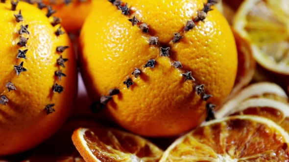 Download Dried Orange Slices And Oranges nulled download