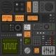 Control Panel UI User Interface HUD Set