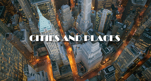 CITIES AND PLACES FOOTAGE COLLECTION