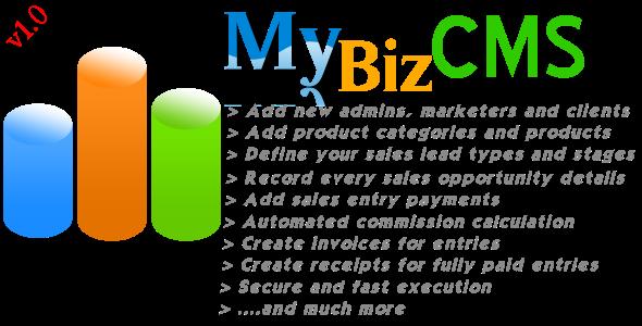 Download MyBizCMS nulled download