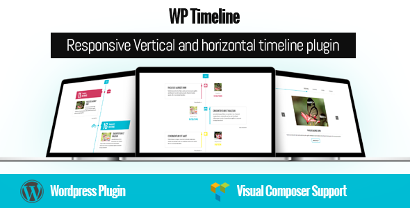 Unlimited Timeline Responsive WordPress plugin - 1