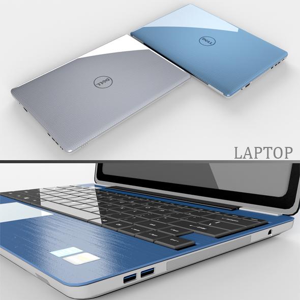 Laptop - 3DOcean Item for Sale