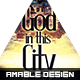 God in this City Church Flyer/Poster