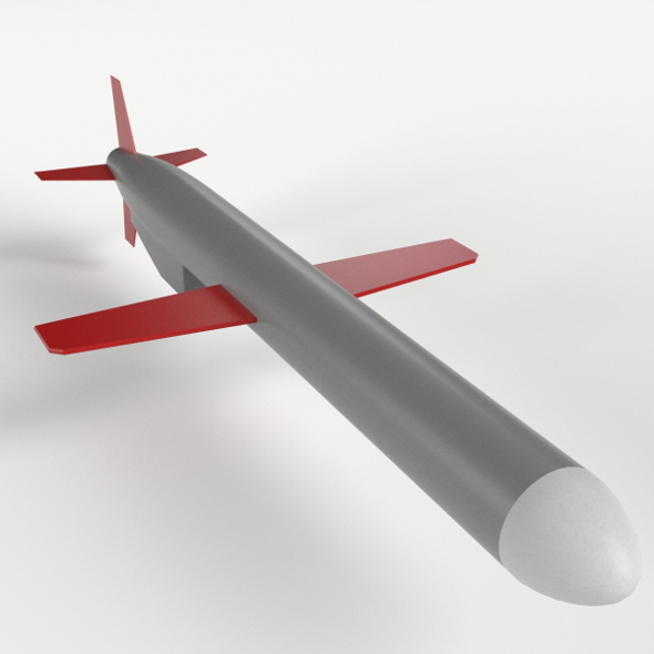 BGM-109 Tomahawk Cruise Missile - 3DOcean Item for Sale