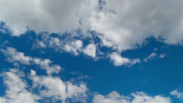 Download Clouds Moving in the Blue Sky nulled download