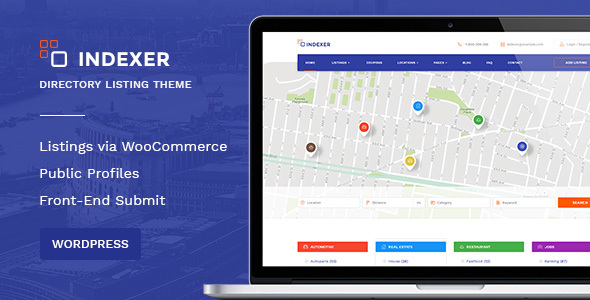 Download Multi-Purpose Listing WordPress Theme - Coupons & Discounts Marketplace  - Indexer nulled download