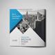 Corporate Tri-fold Square Brochure 04