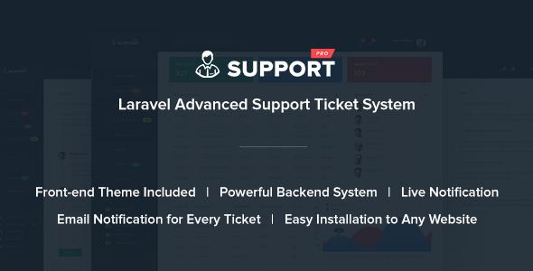 Download SupportPro - Laravel Advanced Support Ticket System nulled download