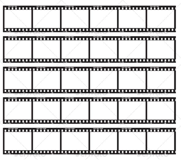 GraphicRiver Traditional film strip 69013