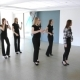 In Model School Young Females are Dancing.