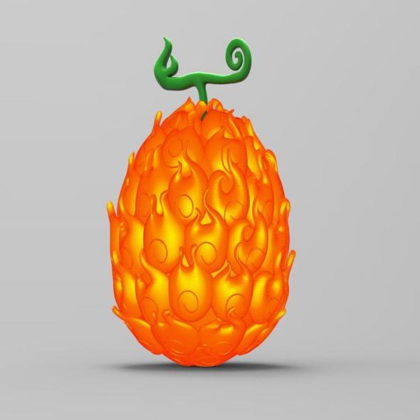 Devil Fruit - Mera Mera no Mi - 3DOcean Item for Sale