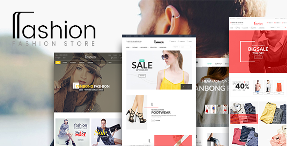 Фото Шаблон Wordpress платный  Fashion Store WooCommerce WordPress Theme — 00 preview.  large preview