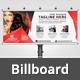 Beauty Salon Billboard V11