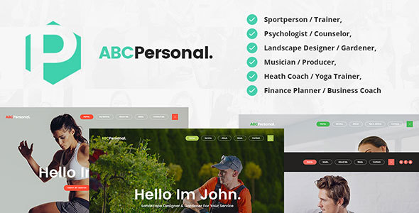 ABC Personal - Trainer / Psychiatrist / Gardener / Musician / Business & Health Coach