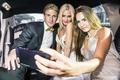 Selfie in Limousine