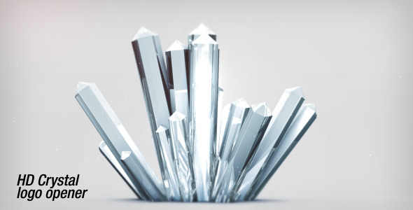 After Effects Project - VideoHive Crystal Logo Opener HD 1745993