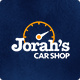 Jorah's Car Shop - PSD Template