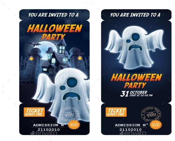 Invitation Flyer - Halloween Party