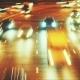 Traffic In Night City.