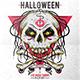 Halloween Skull Fest Flyer