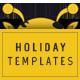 Holidays Instagram Templates