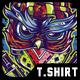 SWG Gangsta Owl T-Shirt Design