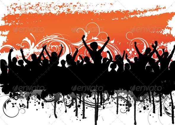 GraphicRiver Grunge crowd 1775499