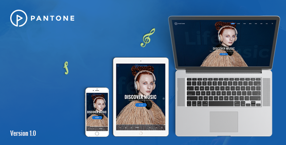 Download Pantone - Music / Artist / Singers / Bands WordPress Theme nulled download