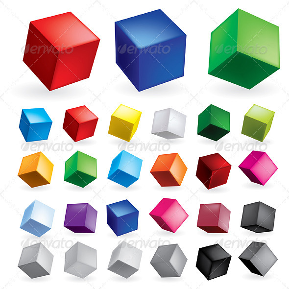GraphicRiver Cubes 1775835