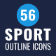56 Sport icons
