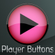 Clean Media Player Buttons - ActiveDen Item for Sale