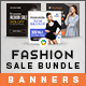 Fashion Sale Banners Bundle - 3 Sets - 54 Banners