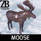 Lowpoly Moose
