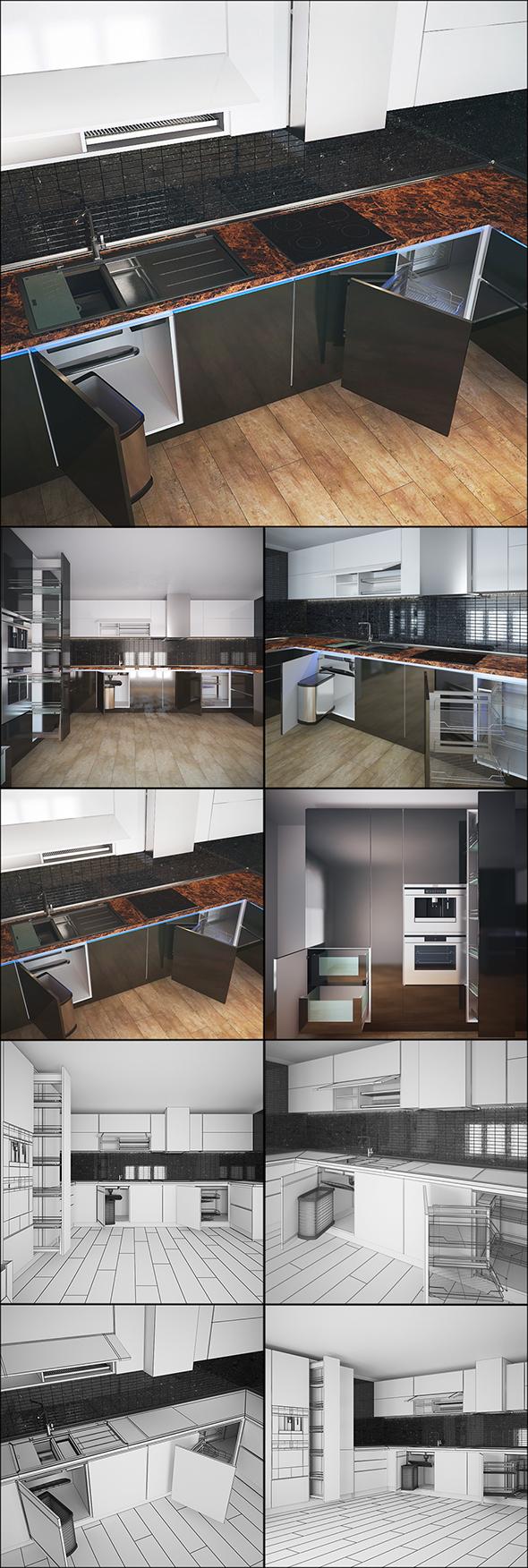 Kitchen vol.05 - 3DOcean Item for Sale