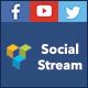 Visual Composer Social Stream