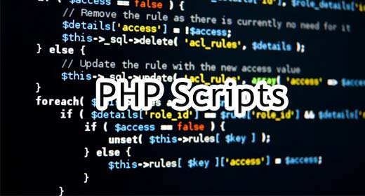 PHP Scripts