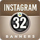 Instagram Banners - 32 Banners